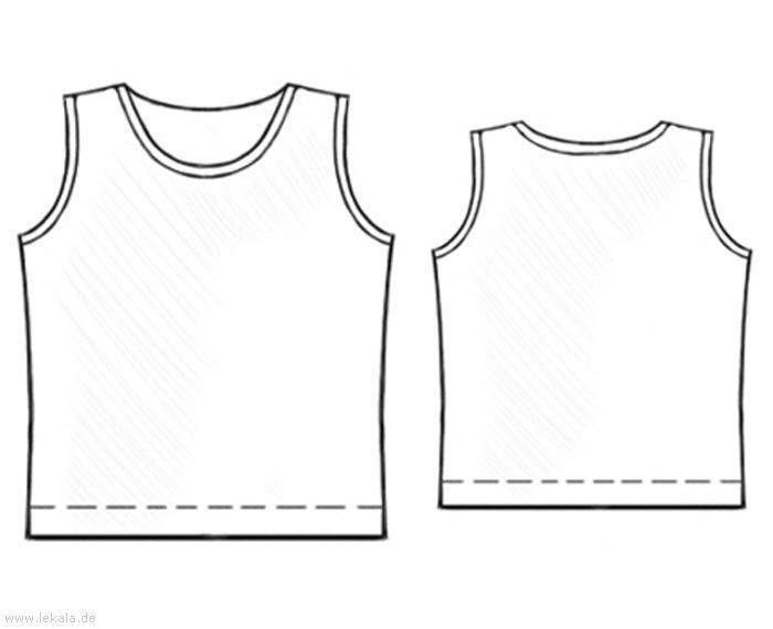 Выкройка майки женской - шьем майку для девочки Традиционно, женские майки шьются из эластичных трикотажных тканей