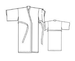 Выкройки больших размеров для полных: Выкройка домашнего халата