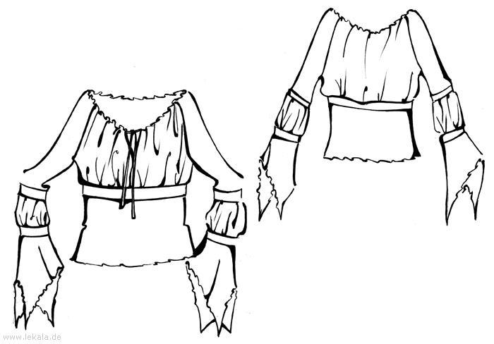 Выкройки платьев и юбок 8